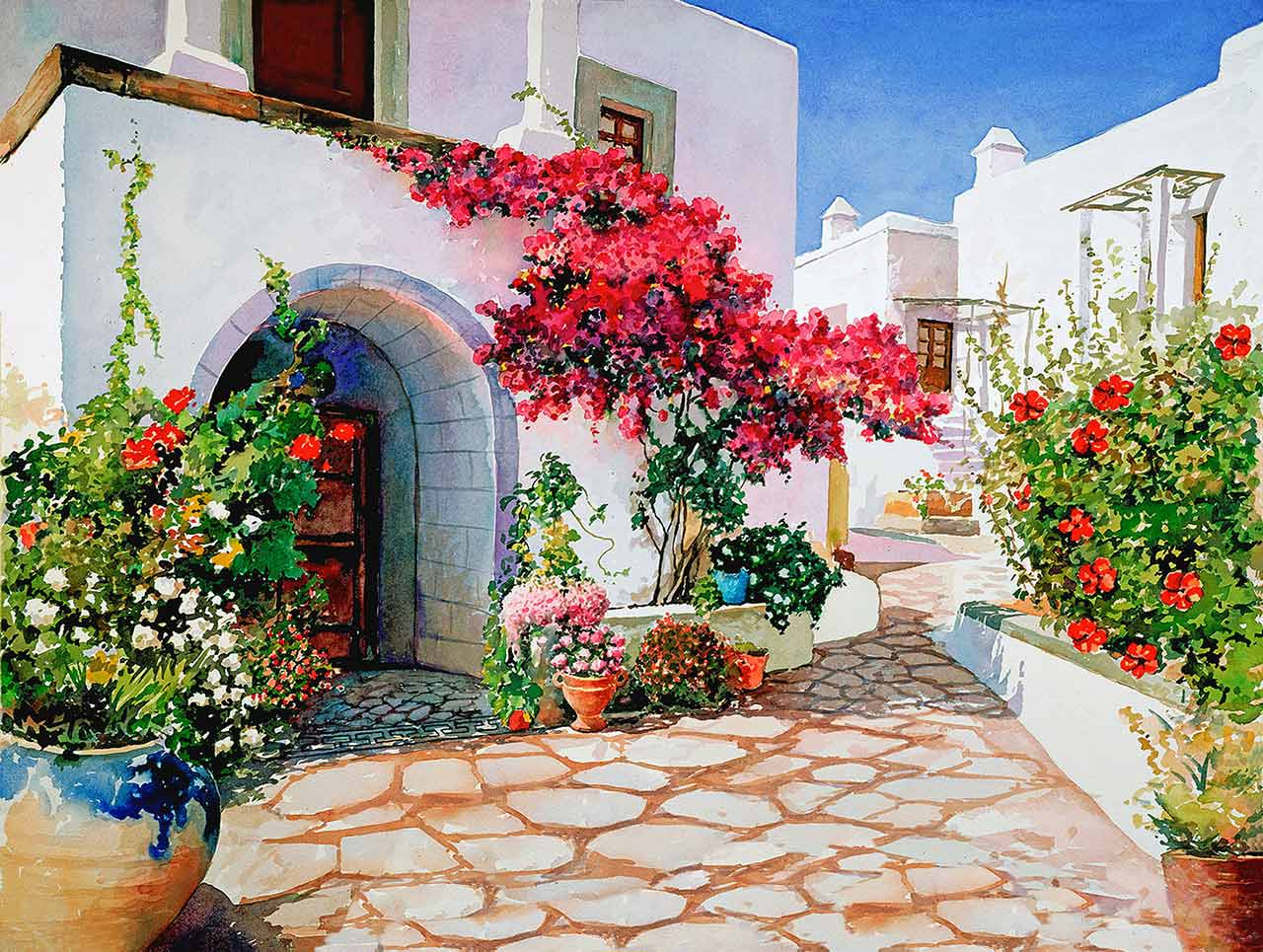 Patmos Picturespicture Of Patmos Island