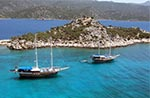 Boat Trip in Patmos